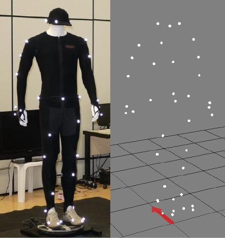 Sistema de captura e análise de movimentos | System for movement detection and analysis